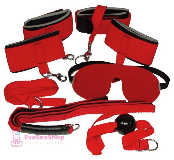 Набор БДСМ Bad Kitty bondage set 6 предметов