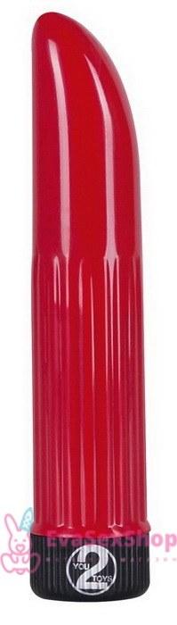 Вибратор Lady Finger, красный