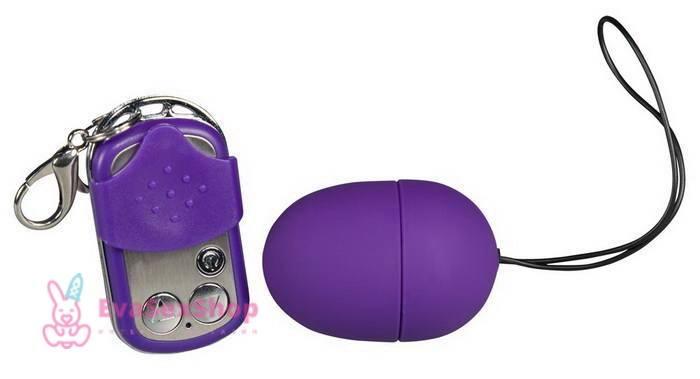 Виброяйцо Purple & Silky