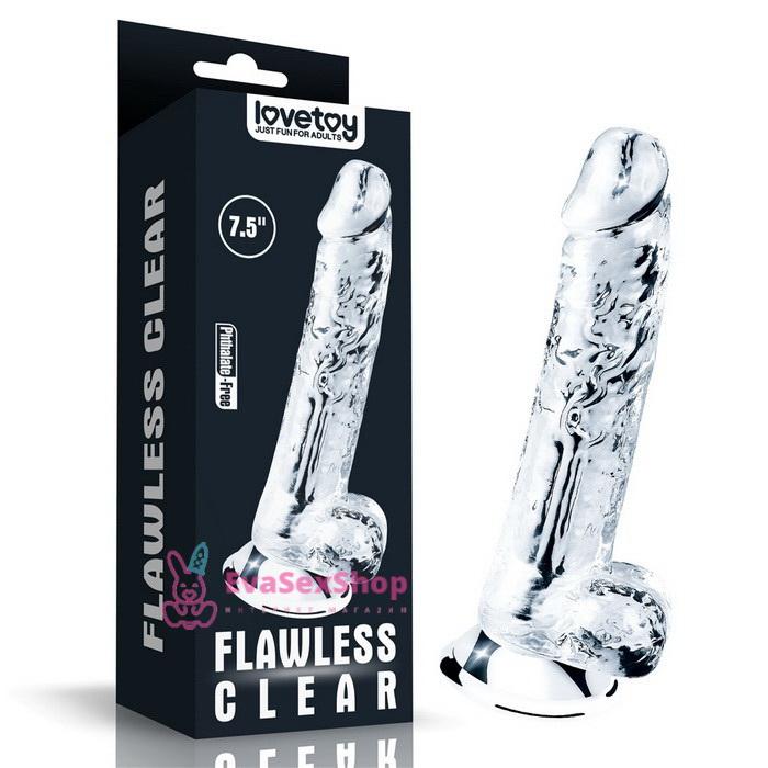 Фаллоимитатор Flawless Clear Dildo 7,5