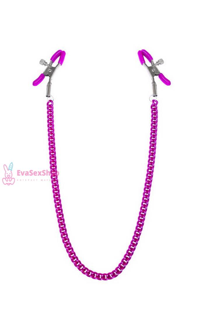 Зажимы для сосков с цепочкой Feral Feelings Nipple clamps Classic, розовый