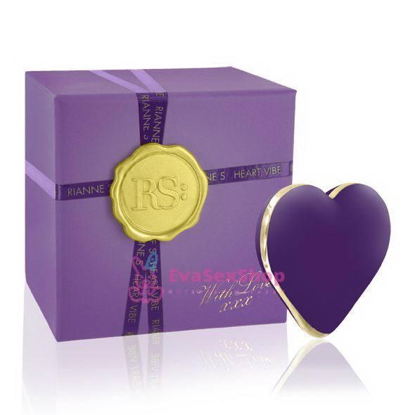 Вибратор-сердечко Rianne S Heart Vibe Purple