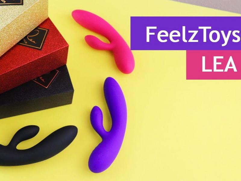 FeelzToys Lea Rabbit Vibrator - видео-обзор на гибкий вибратор кролик с двумя моторами | Evasexshop